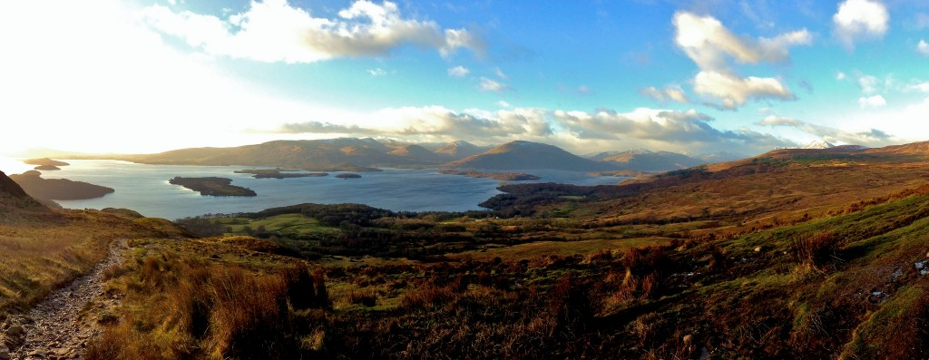 Matito iphone 5 Loch Lomond from Conic Hill
